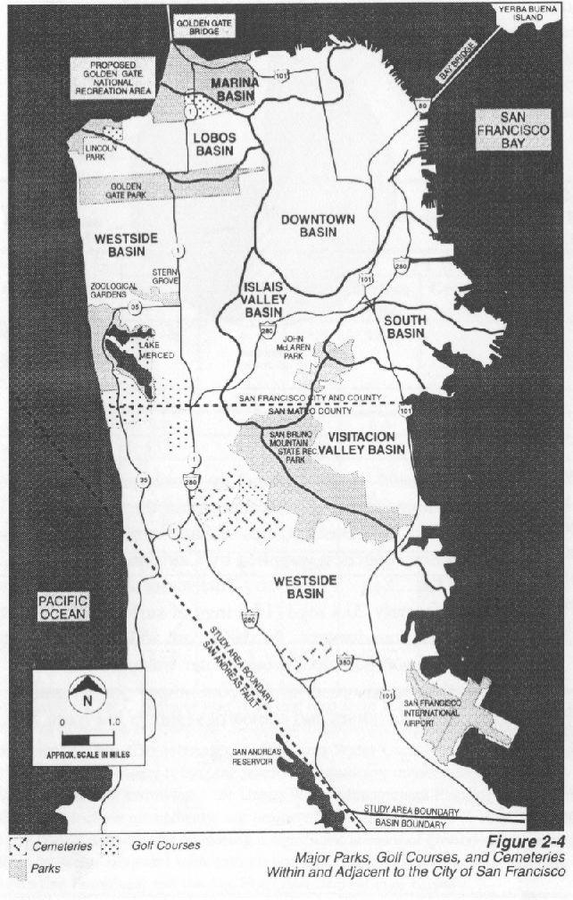 San Franciscos Clean Little Secret - Healthiest aquifers in the us map